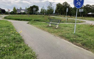 Nieuwe bankjes wandelroute Nieuwstraat/Zietfortseweg